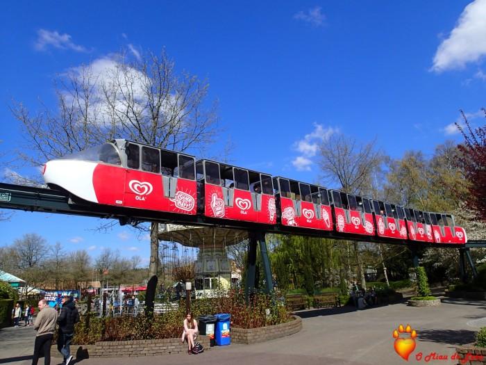 Um TGV que precorre todo o parque